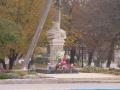 Parcul Cricova - Monulmentul lui Stefan Cel Marse si Sfint